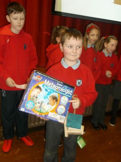 'Switch off' fortnight winner Caleb Nixon for all his effort being an enthusiastic and conscientious member of DPS